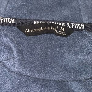 Abercrombie & Fitch Jackets & Coats - Abercrombie and Fitch blue zip up jacket